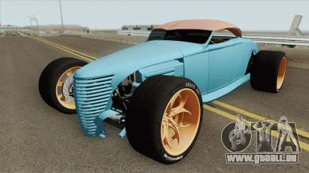 Ford Durty 30 HQ pour GTA San Andreas