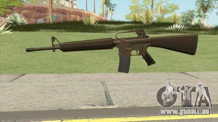 M16A2 Full Desert Camo (Stock Mag) pour GTA San Andreas