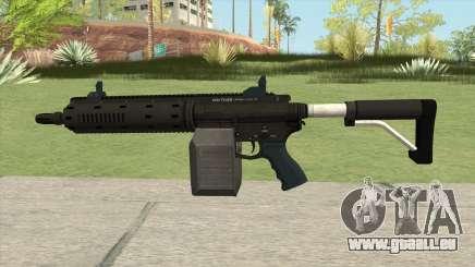 Vom Feuer Carbine Rifle GTA V Base (Box Clip) pour GTA San Andreas