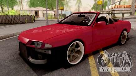 Nissan Skyline R32 Cabrio Drift pour GTA San Andreas