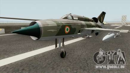 New MiG-21 pour GTA San Andreas
