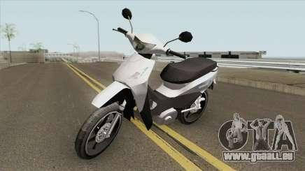 Honda Biz 125CC - Reduzida für GTA San Andreas