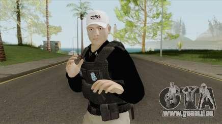 Brazilian Police Skin V1 pour GTA San Andreas