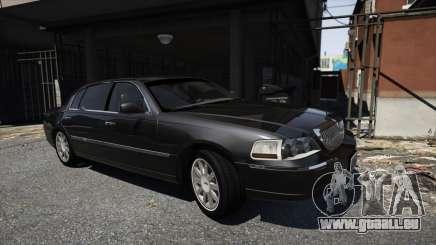Lincoln TownCar 2010 v1 pour GTA 5