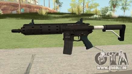 Carbine Rifle GTA V Flashlight (Default Clip) pour GTA San Andreas
