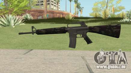 M16A2 Partial Forest Camo (Stock Mag) pour GTA San Andreas