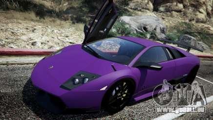 Lamborghini Murcielago LP670-4 SuperVeloce pour GTA 5