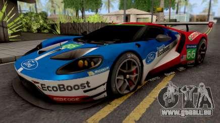 Ford Racing GT Le Mans Racecar für GTA San Andreas