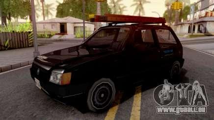 Fiat Uno Mille Fire v2 pour GTA San Andreas