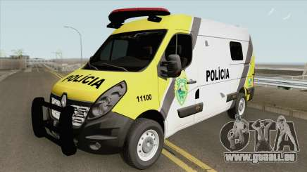 Renault Master 2017 (Policia Militar Do Parana) pour GTA San Andreas
