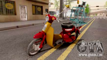 Honda Super Cub Business pour GTA San Andreas