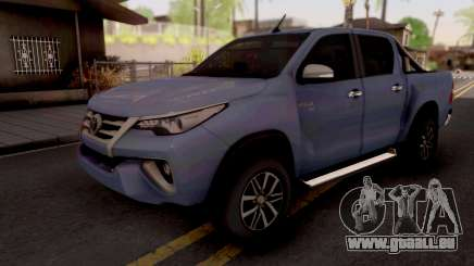 Toyota Hilux Front Fortuner 2018 pour GTA San Andreas