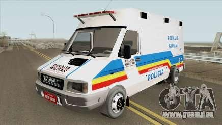 Iveco Daily (Policia Militar) für GTA San Andreas