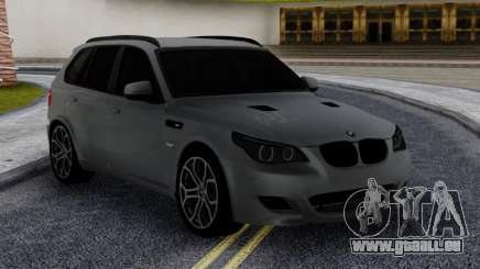 BMW X5M E70 with M5 E60 face pour GTA San Andreas