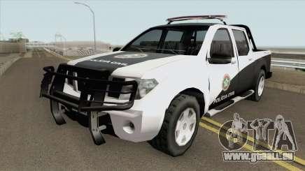 Nissan Frontier - Polícia Civile RJ pour GTA San Andreas