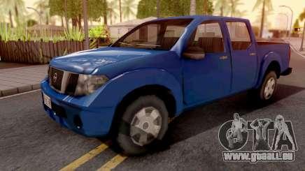 Nissan Frontier Blue pour GTA San Andreas