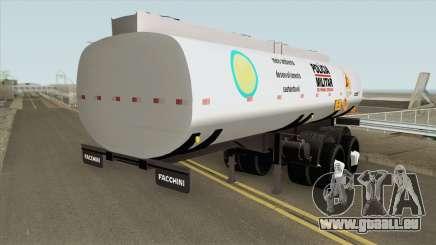 Tank Trailer V2 (Policia Militar) pour GTA San Andreas