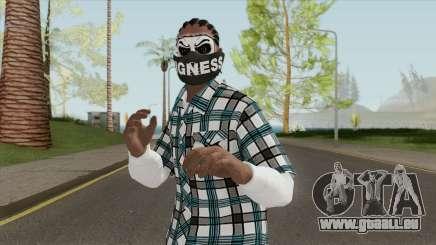 Black Guy Skin V2 pour GTA San Andreas
