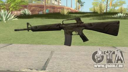 M16A2 Full Jungle Camo (Stock Mag) pour GTA San Andreas