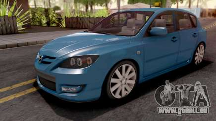 Mazda Speed 3 Blue pour GTA San Andreas