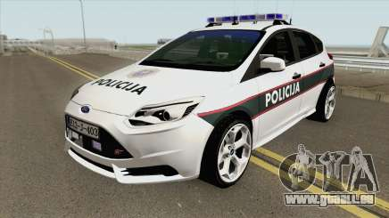 Ford Focus ST 2013 BiH Policija pour GTA San Andreas