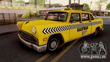 Kaufman Cab GTA VC Xbox pour GTA San Andreas