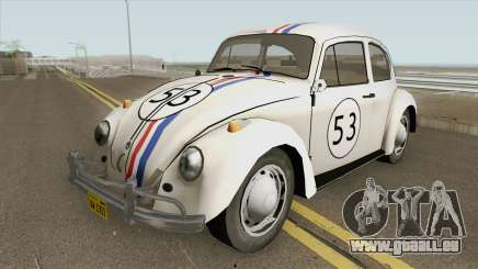 Volkswagen Beetle 1968 Herbie pour GTA San Andreas