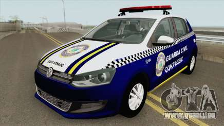 Volkswagen Gol G6 (Guarda Civil) pour GTA San Andreas