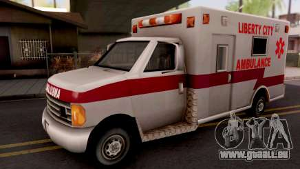 Ambulance GTA III Xbox für GTA San Andreas