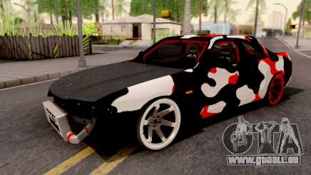 Nissan Skyline R33 Drift Camo pour GTA San Andreas