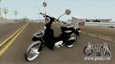 Honda Super Cub Police Version B pour GTA San Andreas