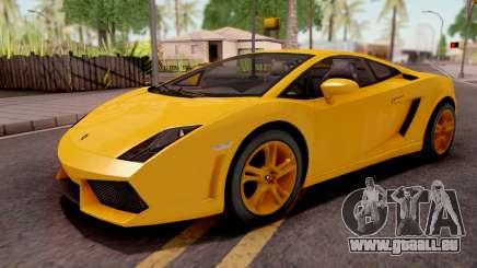 Lamborghini Gallardo LP560 Yellow pour GTA San Andreas