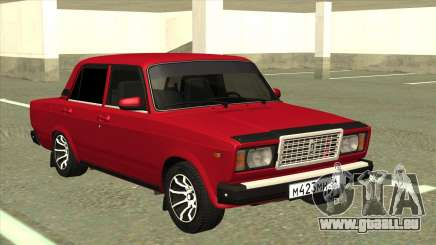 VAZ 2107 Berline Rouge pour GTA San Andreas