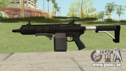 Carbine Rifle GTA V Grip (Box Clip) für GTA San Andreas