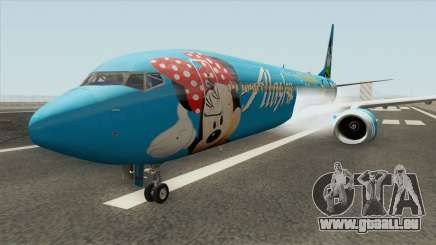 Boeing 737-900 (Disneyland Livery) pour GTA San Andreas