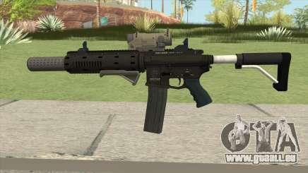 Carbine Rifle GTA V Complete Upgrades (Ext Clip) pour GTA San Andreas