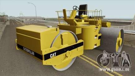 Caterpillar Road Roller pour GTA San Andreas