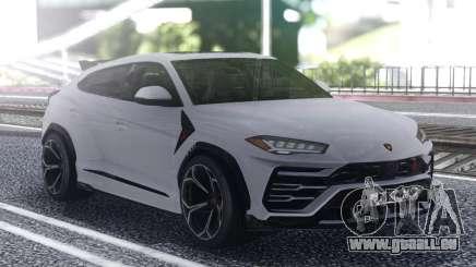 Lamborghini Urus 2019 White pour GTA San Andreas