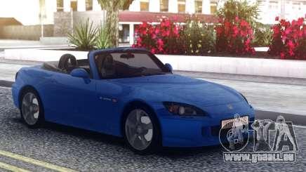 Honda S2000 Cabrio Blue pour GTA San Andreas