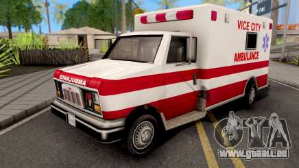 Ambulance GTA VC Xbox für GTA San Andreas