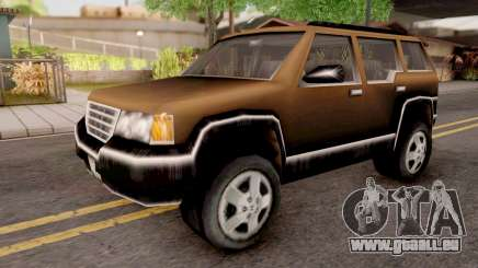 Landstalker from GTA 3 Brown pour GTA San Andreas