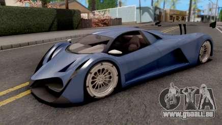 Devel Sixteen Blue pour GTA San Andreas