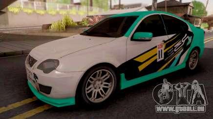 Proton Persona Elegance Petronas Edition für GTA San Andreas