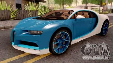 Bugatti Chiron Blue für GTA San Andreas