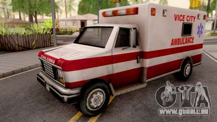 Ambulance from GTA VC für GTA San Andreas