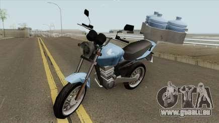 Honda CG Fan 150 pour GTA San Andreas