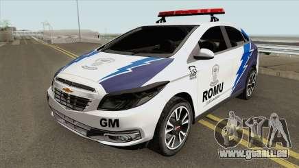 Chevrolet Onix (Guarda Municipal) pour GTA San Andreas