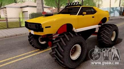 AMC Javelin Monster Truck 1971 pour GTA San Andreas