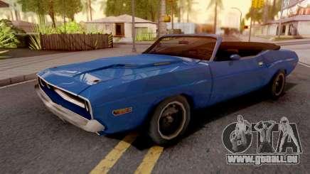 Dodge Challenger RT Conversivel pour GTA San Andreas