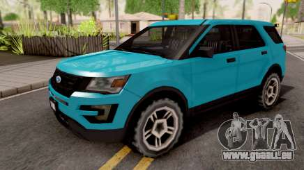 Ford Explorer 2016 pour GTA San Andreas